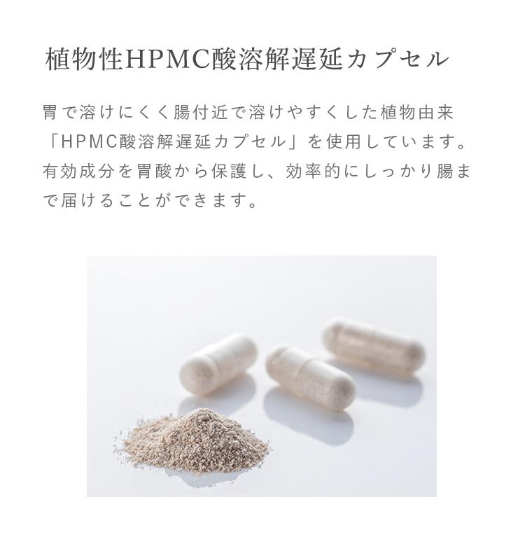 植物性HPMC酸溶解遅延カプセル